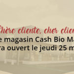 magasin ouvert